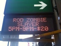 'Rod' Zombie! lol