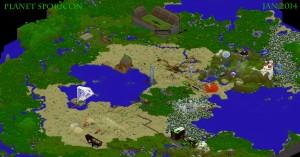 Planet Sporicon (Map)