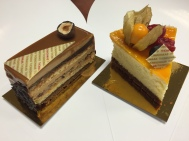 Hazelnut Praline & Exotic Cheesecake