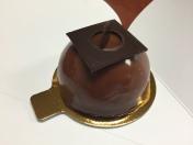 Milk Chocolate Passionfruit Cake