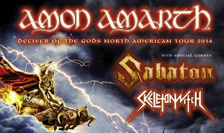 Amon Amarth Tour Seattle