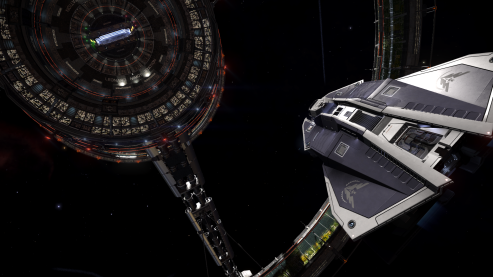 Vulture at Nimoy Station